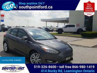 Used 2016 Ford Focus Titanium PENDING SALE for sale in Leamington, ON