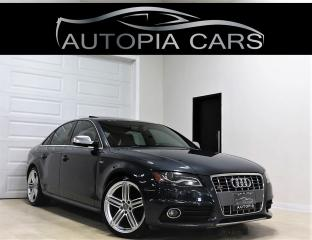 Used 2010 Audi S4 S4 PREMIUM NAVI REAR VIEW BANG OLUFSEN SOUND for sale in North York, ON
