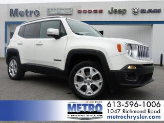 Used 2017 Jeep Renegade Limited for sale in Ottawa, ON