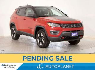 Used 2018 Jeep Compass Trailhawk 4x4, Cold Weather Grp, New Tires/Brakes! for sale in Brampton, ON