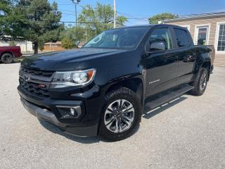 Used 2021 Chevrolet Colorado Z71 | 3.6L Crew 4WD | Midnight Edition | Nav | for sale in St Catharines, ON
