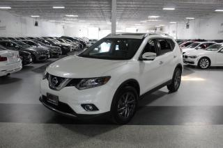 Used 2016 Nissan Rogue SL NO ACCIDENTS I NAVIGATION I LEATHER I PANOROOF I REAR CAM for sale in Mississauga, ON