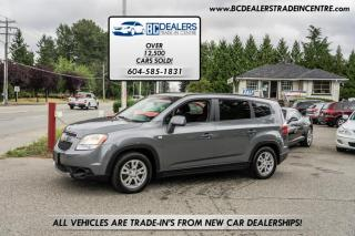 Used 2013 Chevrolet Orlando LT, 4-Cylinder, 3rd Row Seats, Bluetooth, Power Group for sale in Surrey, BC