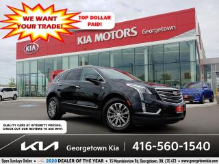 Used 2017 Cadillac XT5 LUXURY | 1 OWNR | CLN CRFX | PANOR ROOF| NAV | 68K for sale in Georgetown, ON