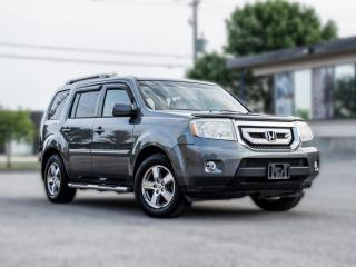 Used 2011 Honda Pilot EX-L|4WD|LEATHER|ROOF|DVD |7 PASS |BACK UP |LOADED for sale in North York, ON