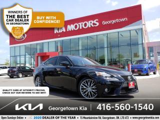 Used 2014 Lexus IS 250 IS250 | CLN CRFX | LTHR | NAV | SUNROOF | BU CAM | for sale in Georgetown, ON