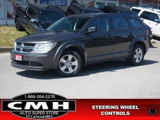 Used 2015 Dodge Journey Canada Value Package  S/W-AUDIO DUAL-CLIM 17-AL for sale in St. Catharines, ON