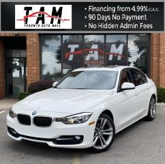 Used 2014 BMW 3 Series 320i xDrive Sport Line NAVI Sunroof Leather Heated Steering Wheel/Seats for sale in North York, ON