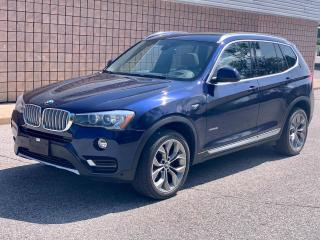 Used 2017 BMW X3 xDrive28i | AWD | NAVI | BACK-UP CAM | PANO ROOF | for sale in Barrie, ON
