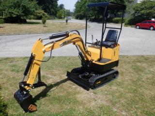 Used 2021 Cael 1T Mini Excavator for sale in Burnaby, BC