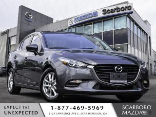 Used 2017 Mazda MAZDA3 SE AUTO REAR CAMERA 1 OWNER CLEAN CARFAX for sale in Scarborough, ON