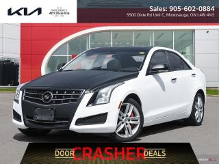 Used 2013 Cadillac ATS 2.0L Turbo Luxury AWD // NAV // ROOF // WRAPPED for sale in Mississauga, ON