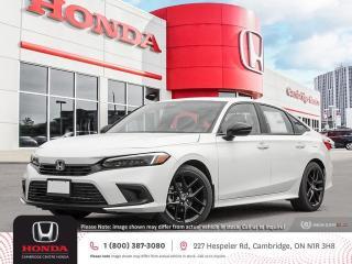 New 2022 Honda Civic Sport POWER SUNROOF   APPLE CARPLAY™ & ANDROID AUTO™   HONDA SENSING TECHNOLOGIES for sale in Cambridge, ON
