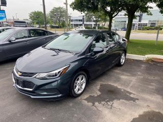 Used 2018 Chevrolet Cruze LT Auto HEATED SEATS, REAR CAMERA, BLUETOOTH, USB, AND MORE for sale in Mississauga, ON