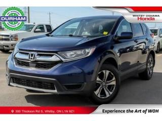 Used 2017 Honda CR-V LX AWD   CVT   Android Auto/Apple CarPlay for sale in Whitby, ON