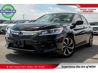 Used 2016 Honda Accord LX | CVT | Android Auto/Apple CarPlay for sale in Whitby, ON