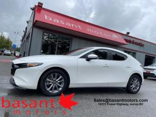 Used 2019 Mazda MAZDA3 Sport i-Activ, Sunroof, Backup Cam, Low KMs, Heated Seat for sale in Surrey, BC