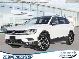 New 2021 Volkswagen Tiguan 2.0T United 4Motion AWD for sale in PORT HOPE, ON
