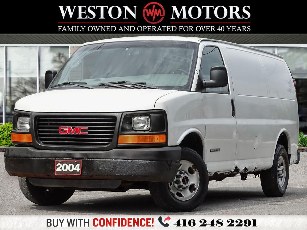 2004 GMC Savana CARGO*READY FOR WORK!!*SOLD AS IS!!*