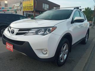 Used 2013 Toyota RAV4 XLE-EXTRA CLEAN-SUNROOF-BK UP CAM-BLUETOOTH-ALLOYS for sale in Scarborough, ON
