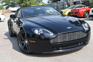 Used 2008 Aston Martin Vantage Roadster - 6 Speed Manual for sale in Oakville, ON
