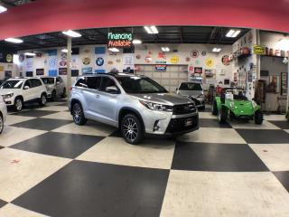 Used 2018 Toyota Highlander XLE AUTO AWD 7 PASS LEATHER H/SEATS SUNROOF for sale in North York, ON