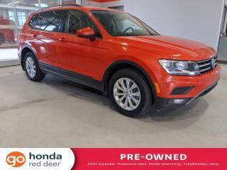 Used 2018 Volkswagen Tiguan Trendline for sale in Red Deer, AB