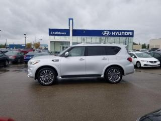 Used 2018 Infiniti QX80 for sale in Edmonton, AB