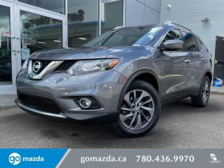 Used 2016 Nissan Rogue SL - LEATHER, NAV, AWD, HEATED SEATS, 360 CAM AND MORE for sale in Edmonton, AB