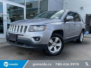 Used 2016 Jeep Compass HIGH ALTITUDE - 4X4, LEATHER, SUNROOF, HEATED SEATS, for sale in Edmonton, AB