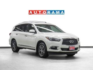 Used 2017 Infiniti QX60 AWD Navigation Leather Sunroof Backup Camera for sale in Toronto, ON