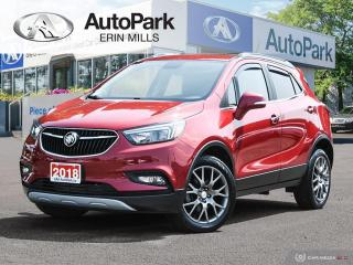 Used 2018 Buick Encore Sport Touring AWD, SPORT TOURING, SAFTEY PACKAGE, SUNROOF, REAR CAMERA AND MORE for sale in Mississauga, ON