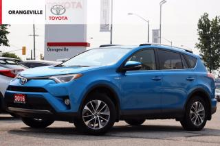 Used 2016 Toyota RAV4 Hybrid XLE, AWD, SUNROOF, HEATED STEERING & SEATS, BLIND SPOT MONITOR, BLUETOOTH, DETAILED SERVICE HISTORY for sale in Orangeville, ON