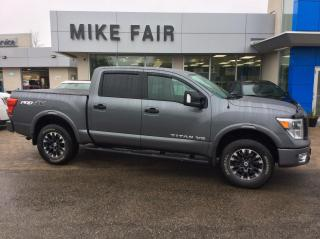 Used 2018 Nissan Titan SV Tire Pressure Monitor, Traction Control, Auxiliary Audio Input And USB With External Media Control for sale in Smiths Falls, ON
