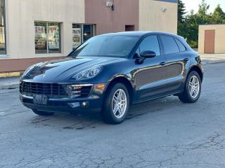 Used 2017 Porsche Macan S AWD NAVIGATION/SUNROOF/CAMERA for sale in North York, ON