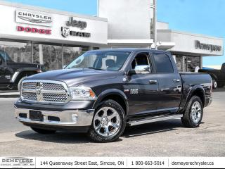 Used 2017 RAM 1500 LARAMIE | HEATED & COOLED LEATHER | LOCAL TRADE for sale in Simcoe, ON