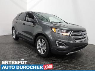 Used 2017 Ford Edge Titanium AWD Toit ouvrant - Cuir - Navigation for sale in Laval, QC