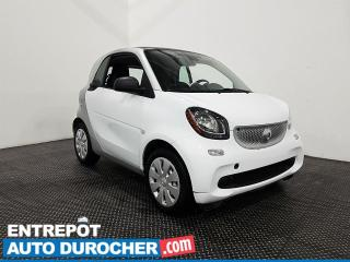 Used 2016 Smart fortwo AUTOMATIQUE Navigation - Cuir - Sièges chauffants for sale in Laval, QC