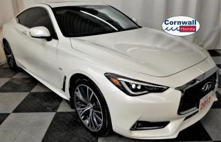 Used 2017 Infiniti Q60 Q60 - Clean CarFax, 3.0Turbo, AWD for sale in Cornwall, ON