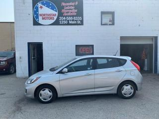 Used 2013 Hyundai Accent 5DR HB for sale in Winnipeg, MB