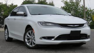 Used 2015 Chrysler 200 4dr Sdn C FWD for sale in North York, ON