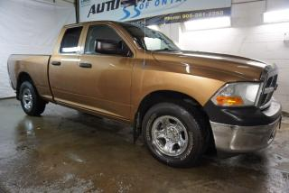 Used 2011 Dodge Ram 1500 V8 SLT 4x4 CAMERA CERTIFIED 2YR WARRANTY *1 OWNER*FREE ACCIDENT* BLUETOOTH CRUISE CHROME for sale in Milton, ON
