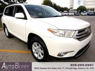 Used 2011 Toyota Highlander Base 4WD Accident Free, One Owner, Low KMs!!! for sale in Woodbridge, ON