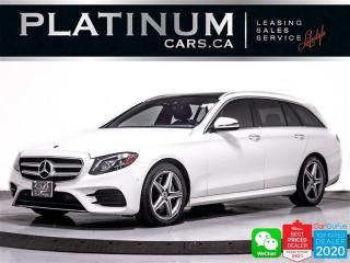 Used 2017 Mercedes-Benz E-Class E400 WAGON 4MATIC, NAV, PANO, 360CAM, HEATED for sale in Toronto, ON