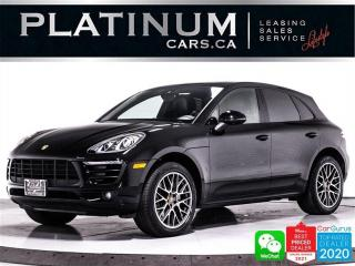 Used 2018 Porsche Macan S, AWD, NAVI, HEATED SEATS, CAM, PANO, MEMORY for sale in Toronto, ON