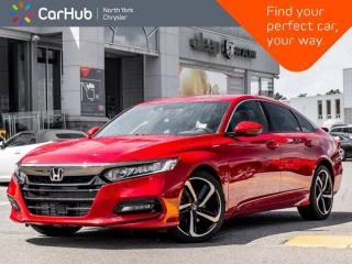 Used 2019 Honda Accord Sedan Sport Manual Sunroof Heated Seats Driver Assists Backup Camera for sale in Thornhill, ON