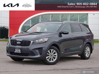 Used 2019 Kia Sorento 2.4L LX LOW FINANCING RATES // 6 YEAR WARRANTY for sale in Mississauga, ON