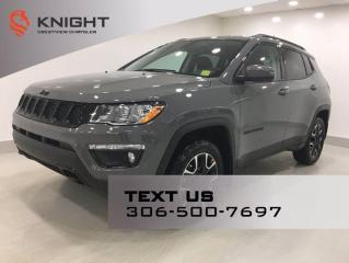 New 2021 Jeep Compass Upland Edition 4x4 for sale in Regina, SK
