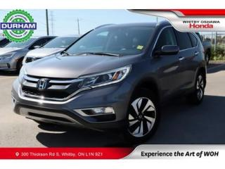 Used 2016 Honda CR-V Touring   CVT   Navigation for sale in Whitby, ON