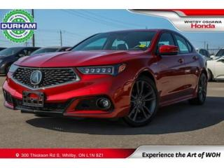 Used 2020 Acura TLX Technology Package A-Spec | Automatic for sale in Whitby, ON